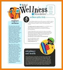 Wellness Newsletter Templates Wellness Newsletter Template Best Resume Free Health And