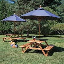 Best 25 Picnic table with umbrella ideas on Pinterest