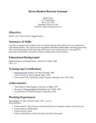 Student Nurse Resume Cover Letter Breathtaking Graduate Nurse Resumeples Template New Grad Nursing 14
