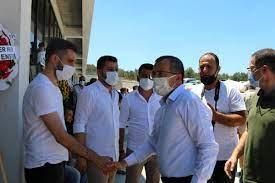 Akhisarspor Başkanı Hüseyin Eryüksel son yolculuğuna uğurlandı - Haberci  Burada