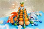 Фото как сделать елку из мандаринов своими
