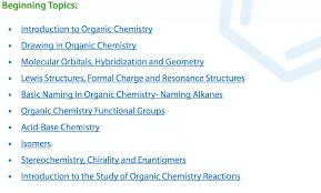 organic chemistry help tools organic chemistry help