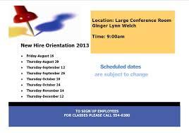new employee orientation schedule ebci new hire orientation schedule the cherokee one feather