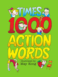 Times 1000 Action Words Times 1000 May Kong 9789810103835