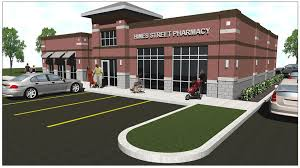 pharmacy design company retail architects shopping center buddy webb company