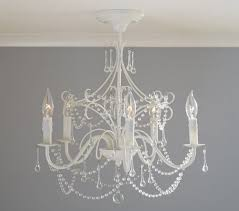 creative of small hanging chandelier white fl valance small hanging chandelier ba nursery ideas