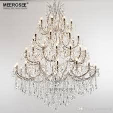 large maria theresa chandelier 49 lights luxurious clear crystal hanging drop lamp large maria theresa chandelier 49 lights clear crystal chandelier clear