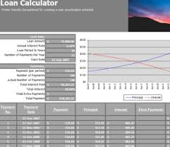 Student Loan Calculator My Excel Templates