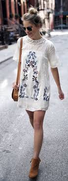 Fashion & Style Inspiration: Gorgeous Looking Boho Embroidery Dress as  featured on Pasaboho.