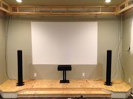 Home Theater Stage Design Impressive House