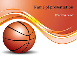 Basketball Powerpoint Template Basketball Game PowerPoint Template Templates Pinterest 9