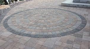 Circular Paving Patterns