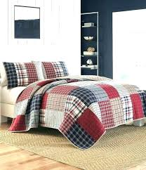 buffalo check duvet cover pottery barn plaid red bedding covers medium size of