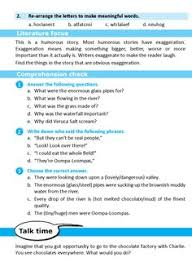 literature grade short stories charlie and the chocolate factory  literature grade 6 short stories charlie and the chocolate factory 6 english literature grade 6 chocolate factory literature and english