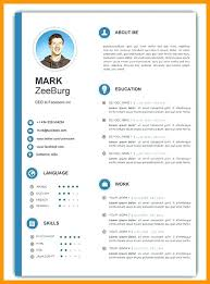 Resume Templates Free Word Custom Resume Format In Ms Word 48 Template Sample This Is Free Of Best