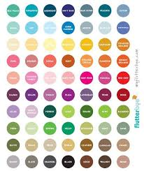 Wedding Color Chart Pin By Tanica Harris On Lularoe Color Names Chart Paint