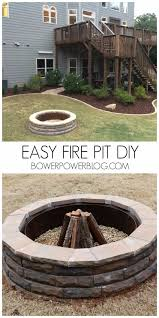 diy fireplace ideas easy firepit diy do it yourself firepit projects and fireplaces for