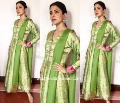 Anushka Sharma Fashion Designer Anushka Sharma In Manish Malhotra South India Fashion