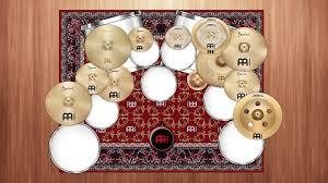 description the specially designed meinl drum rugs