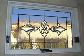 glass window stained glass traditional decor ornate patterns bevel cer sans soucie