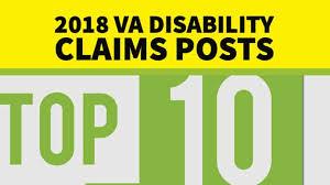2018 Top Veterans Affairs Disability Claims Posts Va