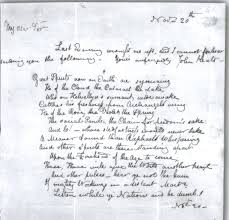 john keats original manuscripts of poetry letters letter from john keats to benjamin robert haydon