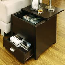 perfect storage end tables for living room 24 for home design planning with storage end tables