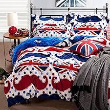 Mustache Comforter Sets