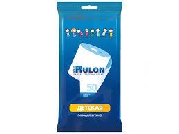 <b>Влажная туалетная бумага</b> Mon Rulon <b>детская</b> 50 шт купить по ...