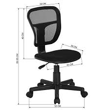 office chair fabric upholstery. Wonderful Office HOMY CASA Homycasa Rolling Armless Task Chair Kids Study Desk  Fabric Upholstery Seat With Office O
