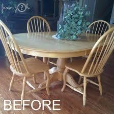 before diy restoration hardware finish with weatherwood stains