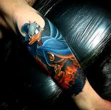 Donald Duck Tattoos Tattoo Artists Inked Magazine Tattoo Ideas