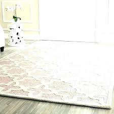 sisal rug 8x10 wool rug wool rug handmade light pink wool rug wool sisal rug wool