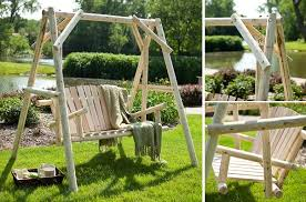 Small Picture 20 Fabulous DIY Patio and Garden Swings