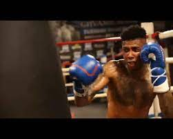 boxing match with rapper Blueface ...
