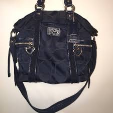 Coach POPPY Navy Blue Bag
