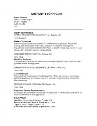Dietitian Assistant Sample Resume Dietary Resume Templates Memberpro Co Nutrition Assistant Sample 5