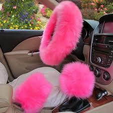5pcs furry genuine australian sheepskin fur car seat covers interior accessories 6430973310808