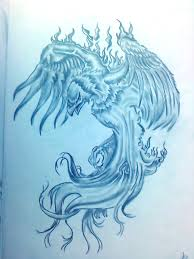 Gallery Drawing Of A Phoenix On Fire Drawing Artist