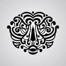 эскиз тату тигра эскиз татуировки тигр лицо векторное изображение