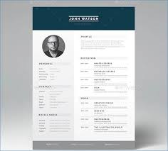 Resume Template Indesign Resume Layout Com