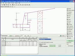 Small Picture Gravity retaining wall design spreadsheet homefunus