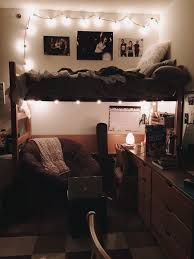 College dorm room ideas for girls / Cute college student dorm room decor  decorations style / lights cozy for women /