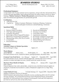 66 Excellent Resume Sample A Good Resume Example For