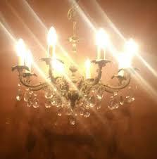Kronleuchter Lüster Reserviert Lampe Antik Putte Bronze Versand