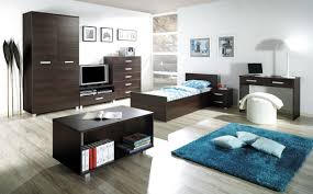 teen boy furniture. bedroomsporty teen boy bedroom with wheeled twin bed also round bedside table retro furniture i