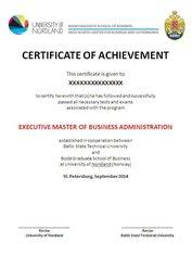 Примеры диплома mba и executive mba diploma mba th