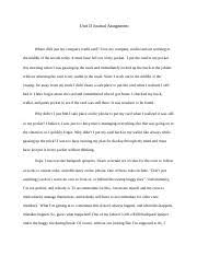 unit vi essay critical thinking unit vi essay unethical and  4 pages critical thinking unit journal