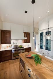 light wood baseboard kitchen traditional with ceiling lighting two tone cabinets baseboard lighting