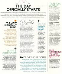 hm hippie  what i found was as great article from real simple on the cycle of our day and what we can do to stay energized throughout our awake hours but also ready